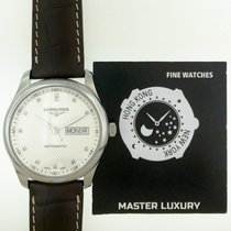 Longines Master Collection Steel 38.5mm Silver No numerals