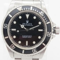 Rolex Submariner No Date 14060m 2 Liner Steel 40mm Circa 2001