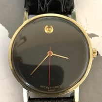 Mathey-Tissot Hand Wind Gold on Silver