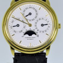 Audemars Piguet Jules Audemars Yellow gold 36mm White Arabic numerals