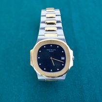 Patek Philippe 3700/001 Gold/Steel 1981 Nautilus pre-owned
