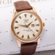 Longines Gold/Steel 35mm Automatic Conquest pre-owned United Kingdom, Macclesfield