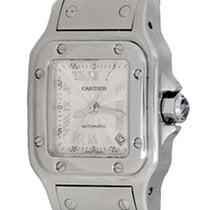 Cartier Santos Galbée Steel 24mm Silver Roman numerals United States of America, Texas, Dallas