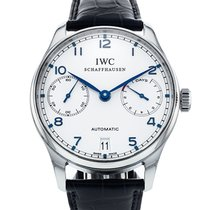 IWC 42.3mm Automatic 2012 pre-owned Portuguese Automatic Silver