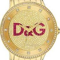 Dolce & Gabbana 47mm Quartz new Gold
