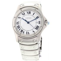 Cartier Santos (submodel) pre-owned 30mm Steel