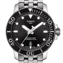 Tissot new Automatic Display back Central seconds Luminous hands Screw-Down Crown Luminous indices 43mm Steel Sapphire crystal