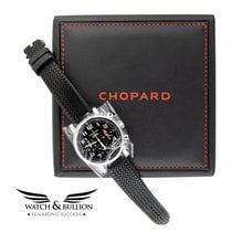 Chopard Or blanc 38mm Remontage automatique 161252-1001 nouveau