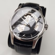 Hamilton 40mm Automatic 2011 pre-owned Jazzmaster Open Heart Black