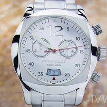 Burberry Chronograph 42mm Quarz 2000 gebraucht Weiß