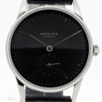 NOMOS Orion Neomatik Steel 36mm Black