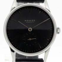 NOMOS Orion Neomatik pre-owned 36mm Black Leather