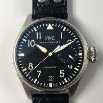 IWC Big Pilot Steel 46mm Black Arabic numerals Malaysia, Kuala Lumpur