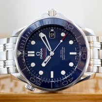 Omega Seamaster Diver 300 M Steel 41mm Blue United States of America, New Jersey, Englewood
