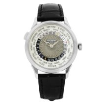 Patek Philippe World Time White gold 38.5mm Grey Arabic numerals United States of America, New York, NYC