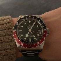Tudor Black Bay GMT Stahl 41mm Schwarz Keine Ziffern Schweiz, Bern
