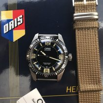 Oris Divers Sixty Five pre-owned 40mm Black Date Textile