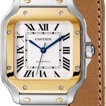 Cartier Santos (submodel) Cartier W2SA0007 Santos De Cartier Midsize two tone 2020 nouveau