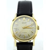 Gruen Yellow gold 30mm Automatic Precision pre-owned
