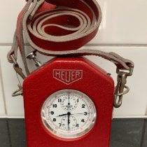 Heuer Stopwatch ref. 11204 Leather Case ref. 51 1965 new