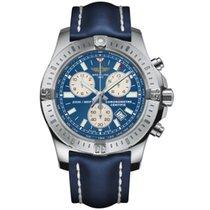 Breitling Colt Chronograph Stahl 44mm Blau Keine Ziffern
