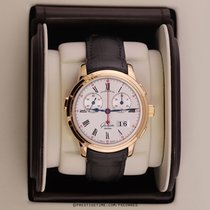 Glashütte Original Senator Rattrapante Rose gold 42mm Silver United States of America, New York, Airmont