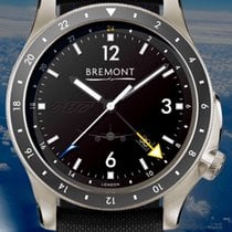 Bremont Titanium Automatisch Zwart 43mm nieuw Boeing