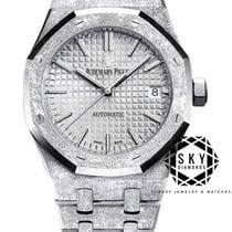 Audemars Piguet Royal Oak Lady new 2018 Automatic Watch with original box and original papers 15454BC.GG.1259BC.01