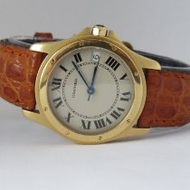 Cartier Santos (submodel) Red gold 34mm White Arabic numerals