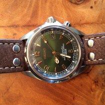 Seiko Spirit Steel 38mm Green Arabic numerals United States of America, Pennsylvania, Flourtown
