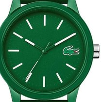 Lacoste Plastic Quartz Green 42mm new