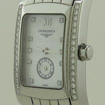 Longines DolceVita L5.155.0.84.6 Longines DolceVita Quartz Steel Diamonds 24,5 2020 новые
