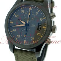 IWC Pilot Chronograph Top Gun Miramar Ceramic 46mm Black Arabic numerals United States of America, New York, New York