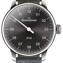Meistersinger N 02 43mm Anthracite Dial - AM 6607