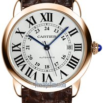 Cartier Ronde Solo de Cartier Rose gold 42mm Silver United States of America, New York, Airmont
