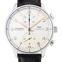 IWC Portugieser Chronograph neu 2020 Automatik Chronograph Uhr mit Original-Box und Original-Papieren IW371445