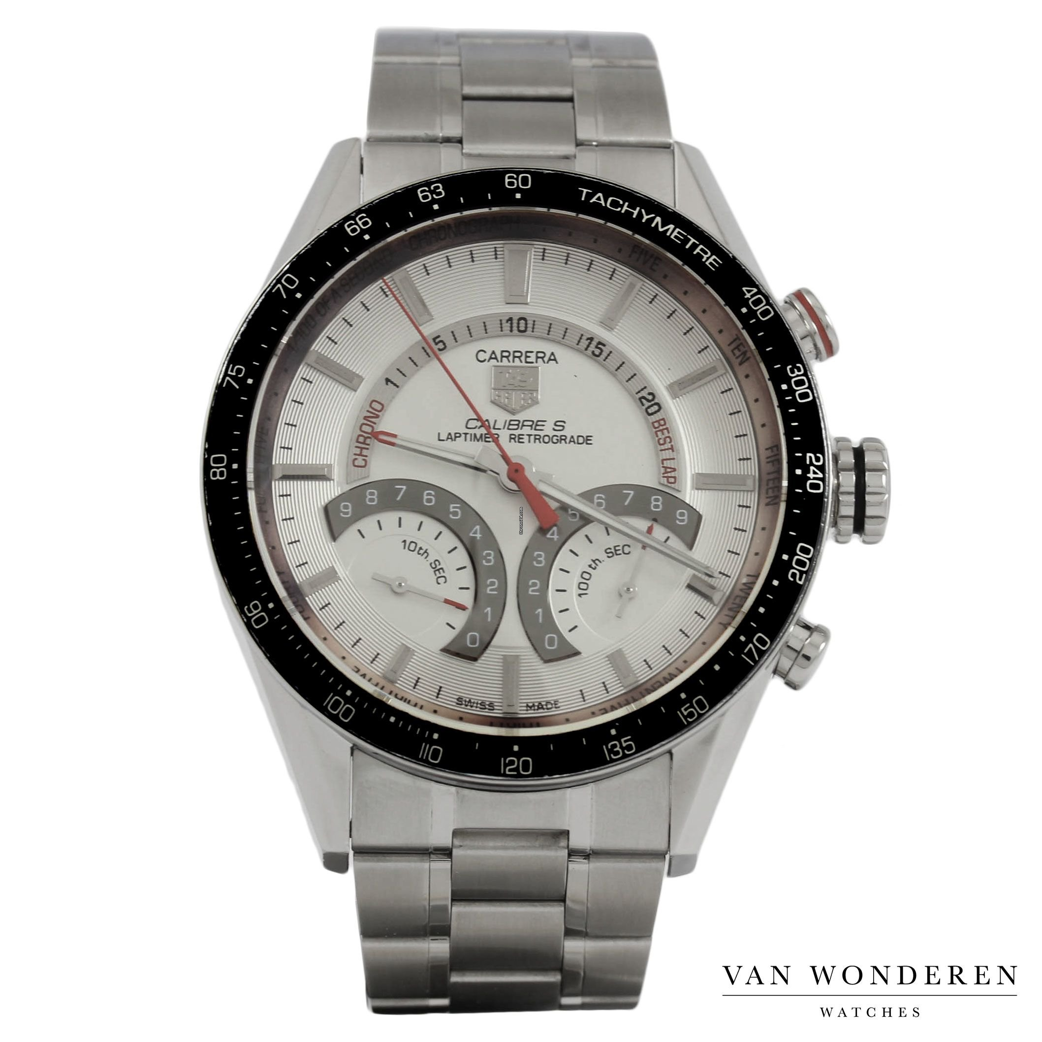 b9febac9e65 TAG Heuer Carrera Calibre S Laptimer CV7A11 for $1,538 for sale from a  Trusted Seller on Chrono24