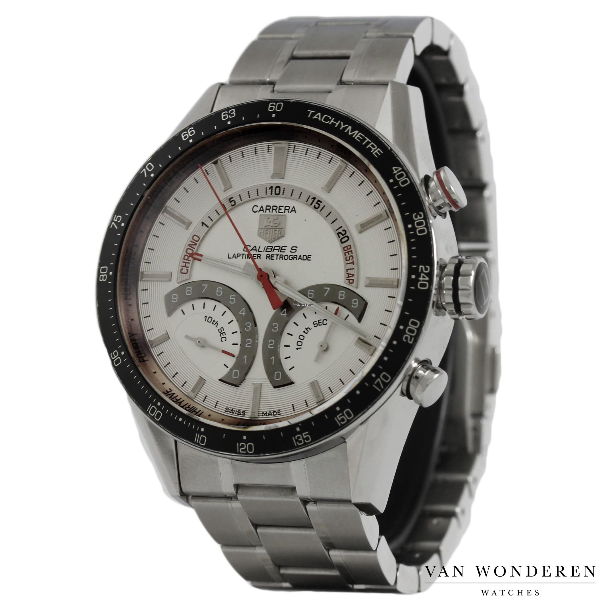 bdc2482e3de TAG Heuer Carrera Calibre S Laptimer CV7A11 for $1,538 for sale from ...