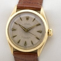 Rolex Bubble Back Yellow gold 34mm