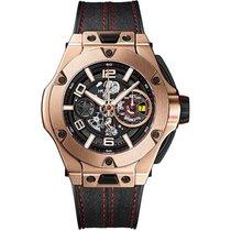Hublot Big Bang Ferrari Růžové zlato 45mm Průhledná