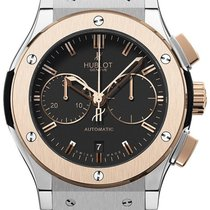 Hublot Classic Fusion Chronograph 18K Rose Gold & Stainles...
