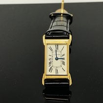 Cartier Tank (submodel) Очень хорошее Желтое золото 34mm Механические