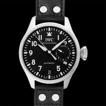 IWC Big Pilot Steel 46mm Black United States of America, California, San Mateo