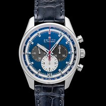 Zenith El Primero 36'000 VpH Steel 42.00mm Blue United States of America, California, San Mateo