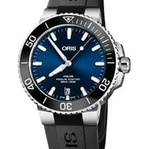 Oris Steel Automatic Blue 39.5mm new Aquis Date