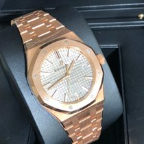 Audemars Piguet Royal Oak Selfwinding 37 Rose NEU 2018 DEUTSCH