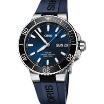 Oris Hammerhead Limited Edition Steel 45.5mm Blue No numerals