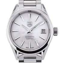 TAG Heuer Carrera Lady Staal 28mm Parelmoer