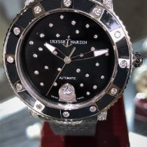 Ulysse Nardin Lady Diver Starry Night new Automatic Watch with original box and original papers 8103-101E-3C/22