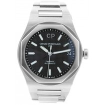 Girard Perregaux Steel 42mm Automatic Laureato pre-owned